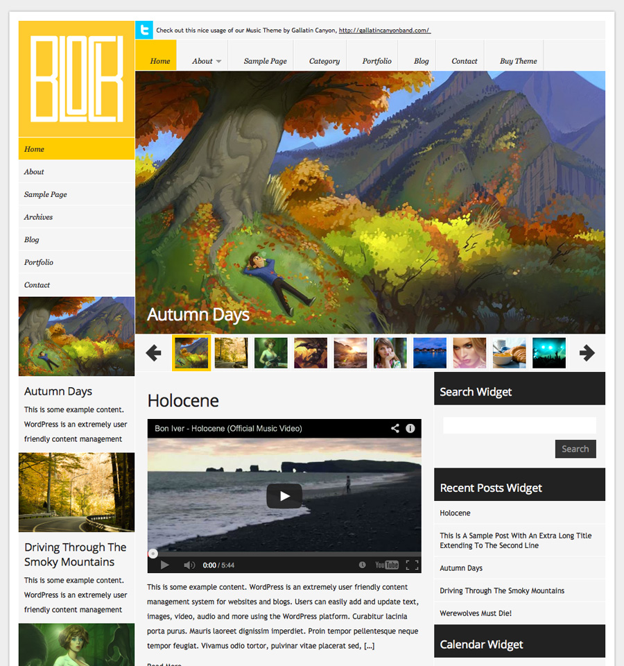 block-wordpress-theme