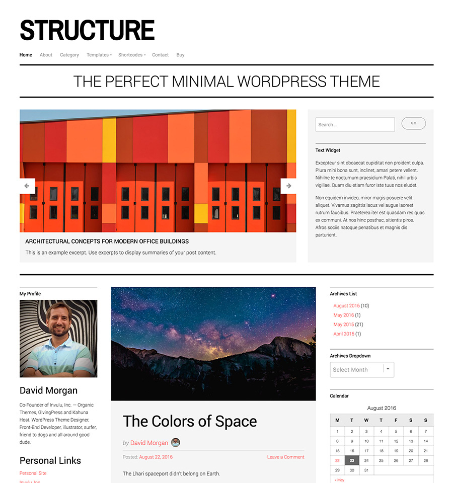 structure-v4-wordpress-theme-white