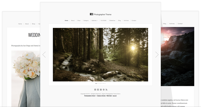Photographer Theme v2
