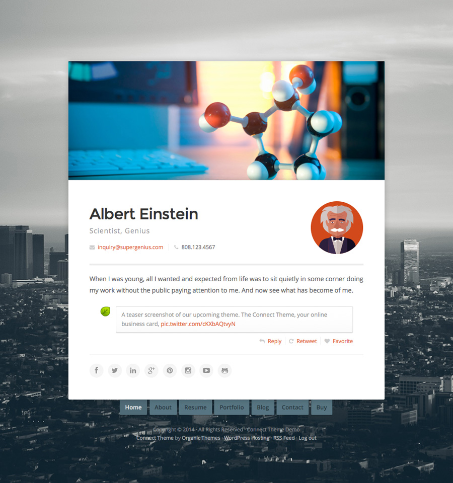 connect-wordpress-theme