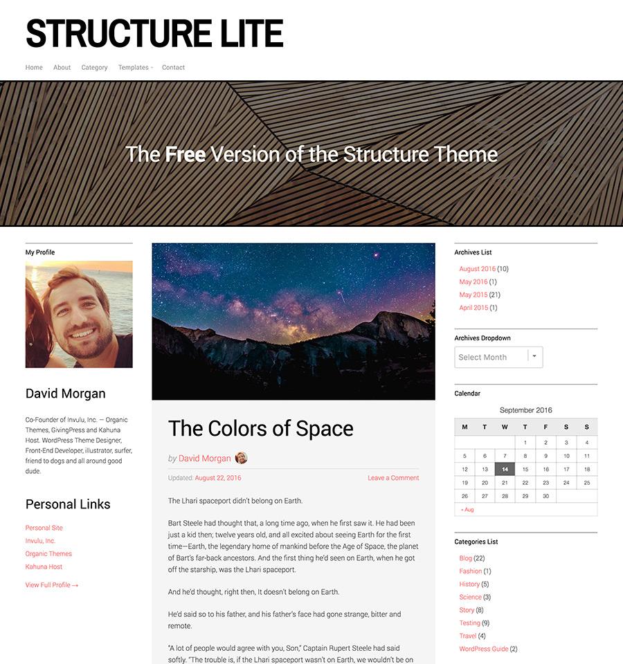 structure-lite-wordpress-theme