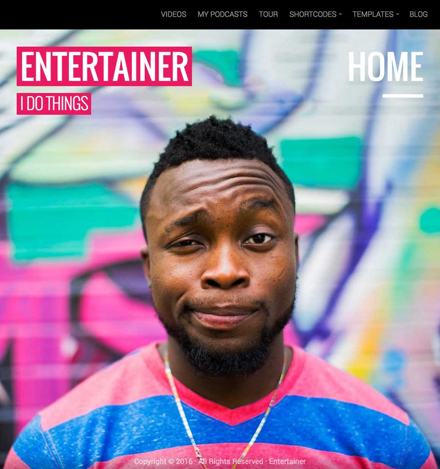 entertainer-wordpress-theme